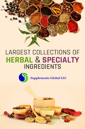 Largest collections of herbal & specialty ingredients